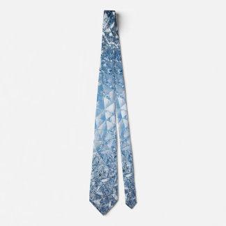 Blue sky in crystals tie