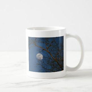 Blue Sky Moon Coffee Mugs