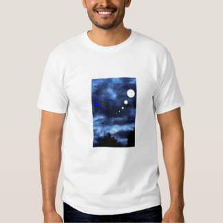 Blue Sky Moons Tee Shirts
