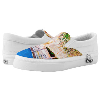 Blue Sky n Beach Printed Shoes