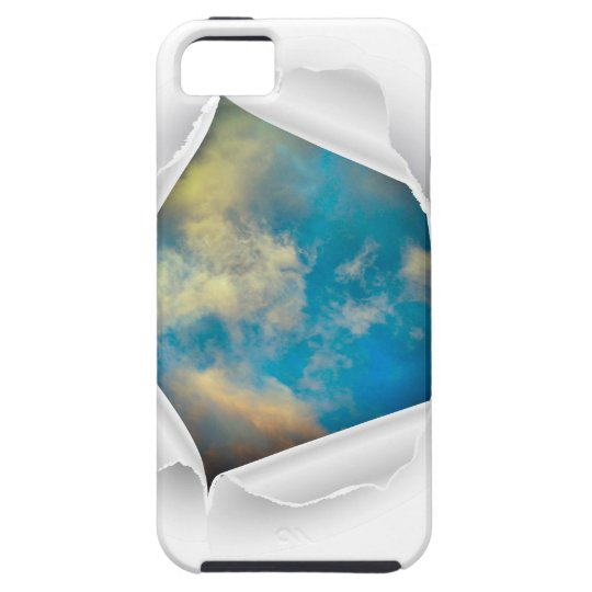 Blue Sky Nature Photo Case For The iPhone 5