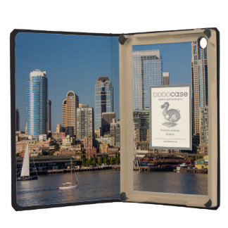 Blue sky over the Elliott Bay waterfront iPad Mini Cases