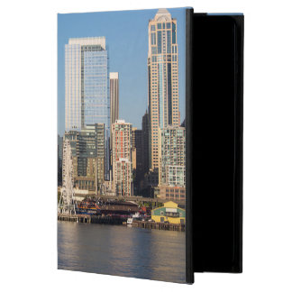 Blue sky over the Elliott Bay waterfront iPad Air Case