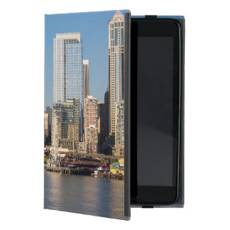 Blue sky over the Elliott Bay waterfront iPad Mini Cover