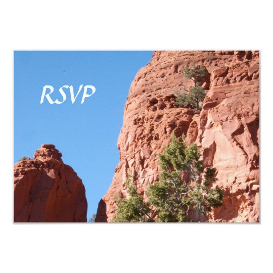 Blue Sky - Red Rocks RSVP Cards