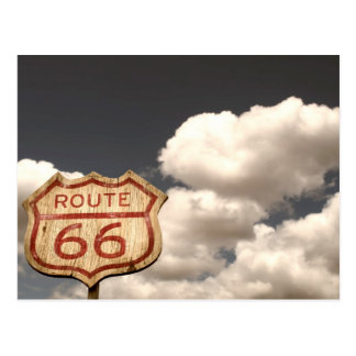 Blue Sky s on Route 66 Post Cards