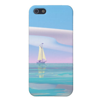 Blue Sky Sailing Case For iPhone 5/5S