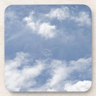 Blue Sky White clouds Coaster