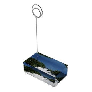 Blue Sky ~ White Sand card holder