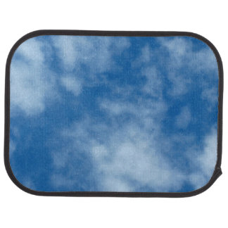 Blue Sky with Clouds Car Mat