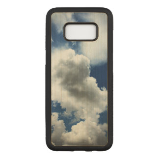 Blue Sky with Clouds Carved Samsung Galaxy S8 Case