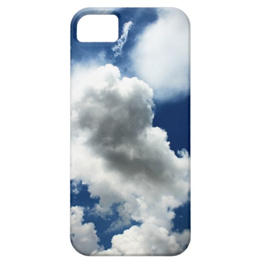 Blue Sky with Clouds Case For The iPhone 5