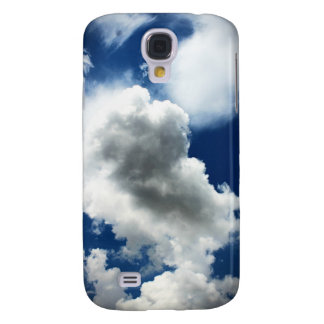 Blue Sky with Clouds Galaxy S4 Case
