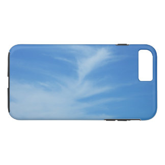 Blue Sky with White Clouds Abstract Nature Photo iPhone 8 Plus/7 Plus Case