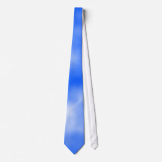 Blue sky with white clouds. tie