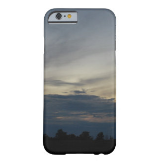 Blue Skyline Barely there Iphone 6 case