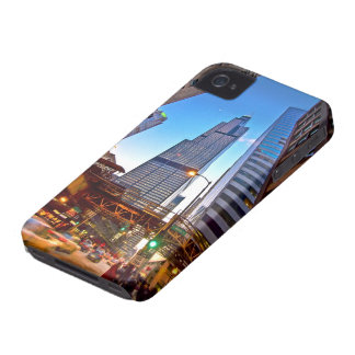 Blue skys and big buildings iPhone 4 Case-Mate case