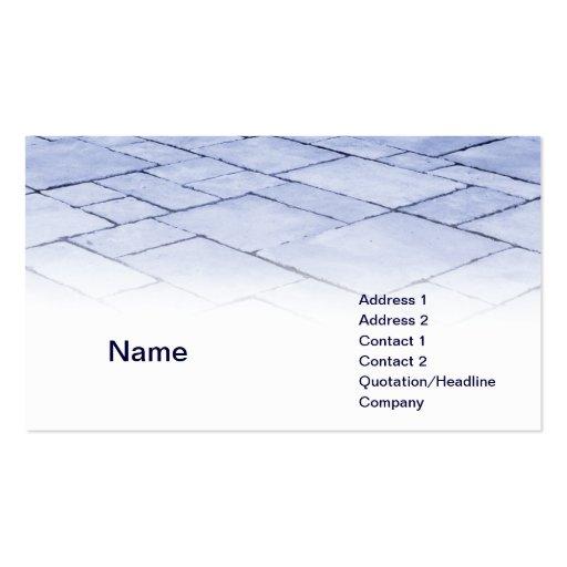 blue slates business card