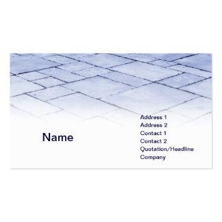 blue slates pack of standard business cards