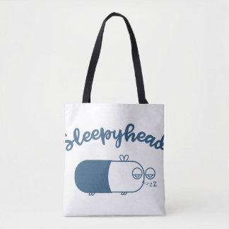 [BLUE] Sleepyhead Tote Bag