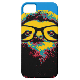 Blue Sloth iPhone 5 Cases