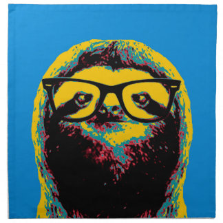 Blue Sloth Napkin