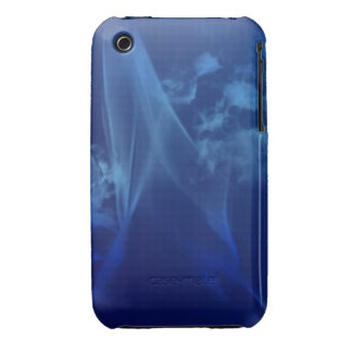 blue smoke abstract iPhone case mate Case-Mate iPhone 3 Cases