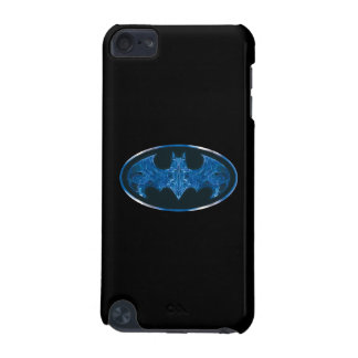 Blue Smoke Bat Symbol iPod Touch 5G Cover