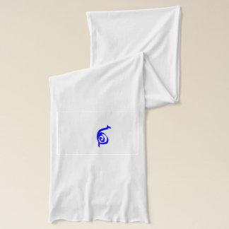 blue snail scarf