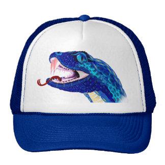 Blue Snake Head Cap