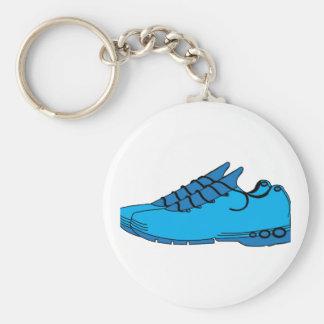 Blue Sneakers Key Ring