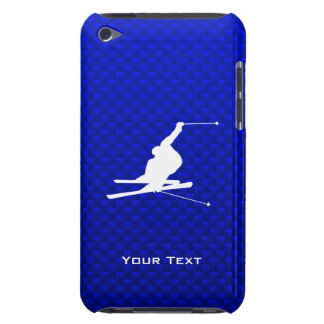 Blue Snow Skiing iPod Touch Case-Mate Case