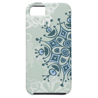 Blue Snowflake iPhone 5 Case