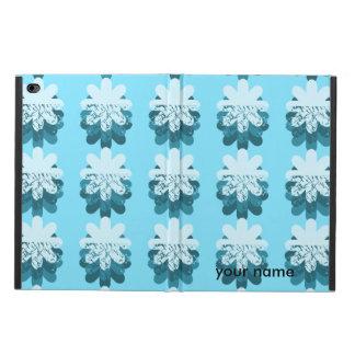 Blue Snowflake Pattern Powis iPad Air 2 Case