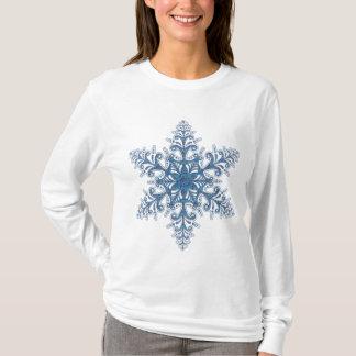 Blue Snowflake Shirt