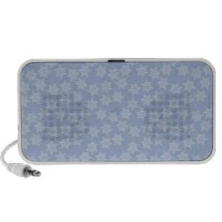 Blue Snowflakes Speaker System
