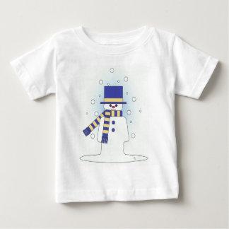 blue snowman baby T-Shirt