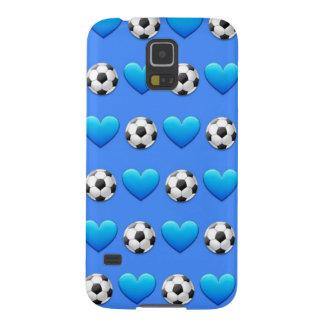 Blue Soccer Ball Emoji Samsung Galaxy S5 Case