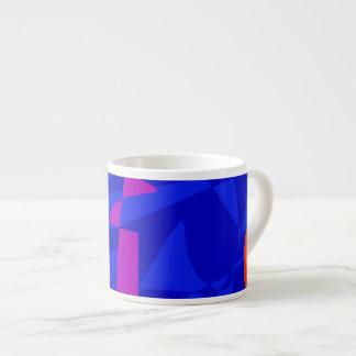 Blue Society Espresso Mug