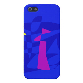 Blue Society iPhone 5/5S Cover
