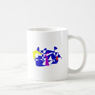 Blue Society Mugs