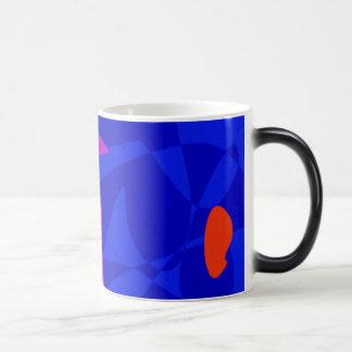 Blue Society Coffee Mugs