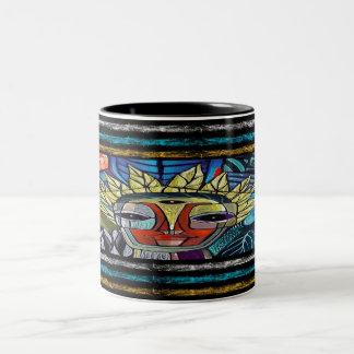 blue soul rising Two-Tone mug