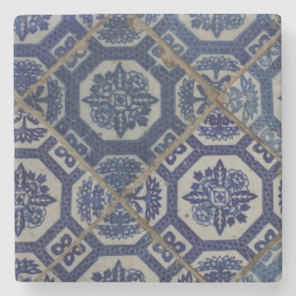 Blue South East Asian Marble Coaster