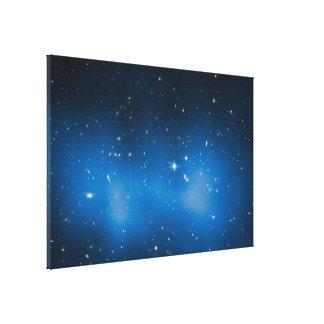 blue space canvas prints