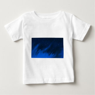 Blue space mist. baby T-Shirt