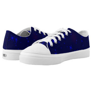 Blue Space- Printed Shoes