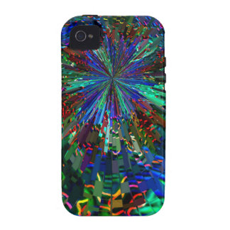 BLUE Sparkle Art  Star Planet Comet Solar Nightsky Case-Mate iPhone 4 Cases
