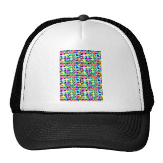 BLUE Sparkle Graphic Spread: Abstract Art by Navin Trucker Hats