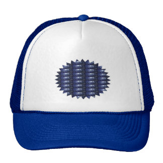 BLUE Sparkle Patch: Based  Healing CRYSTAL STONE Mesh Hats